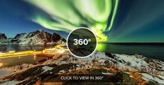 Stunning close up photo of an aurora borealis Hamnøy Norway by Martin Kulhavy [8192x4096] [OS] http://ift.tt/2mUlzlE