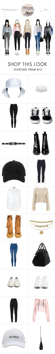 """""""SPICE GIRLS (Airport) Gimpo Airport"""" by spicegirls-official ❤ liked on Polyvore featuring Prada, Topshop, B-Low the Belt, rag & bone, RE/DONE, Dolce&Gabbana, Chloé, Givenchy, Reebok and Ash"""