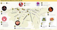 Nuevos Puntos de Comida en la Capital del País #Restaurantesybares