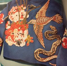 New post about an upcoming Fall trend -embroidery. Up on Stylion! www.stylion.me