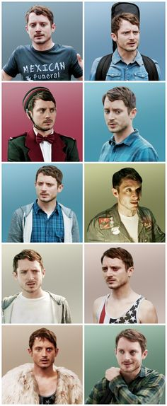 All of Todd's outfits in Season 1 - Dirk Gently's Holistic Detective Agency - Todd Brotzman - Elijah Wood