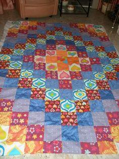 Patrones colchas patchwork gratis - Imagui