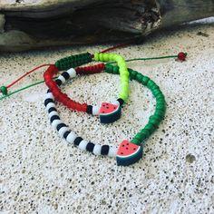 """9 """"Μου αρέσει!"""", 1 σχόλια - mykonosbyboni@yahoo.com (@mykonosbyboni) στο Instagram: """"#National watermelon day #August 3rd #mykonos #motheranddaughter #handmadejewelry #happybday…"""""""