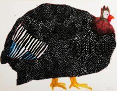 Bird illustration by Japanese artist Miroco Machiko