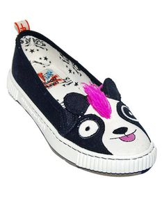 TigerBear Republik Pandarama Sneaky Beast Slip-On Shoe by TigerBear Republik #zulily #zulilyfinds