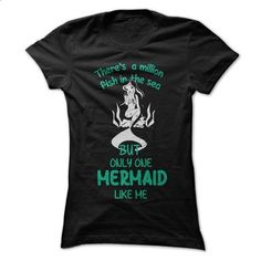 Only the Mermaid like me - #funny tees #white hoodies. GET YOURS =>…
