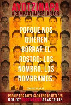 Ayotzinapa: MI México... mi triste, triste, México.