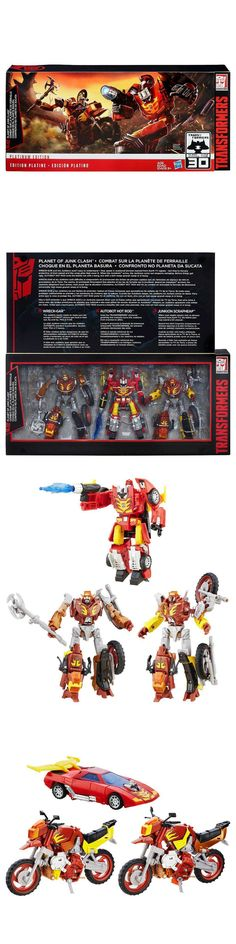 Transformers and Robots 83732: Transformers Generations Platinum Edition Hot Rod Wreck Gar Planet Of Junk (New) -> BUY IT NOW ONLY: $69.99 on eBay!