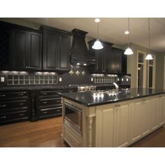 Black Cabinet Kitchen Design, Pictures, Remodel, Decor and Ideas - page 3