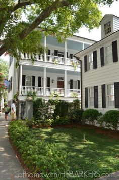 Gorgeous Porch seen on walking tour in Charleston SC