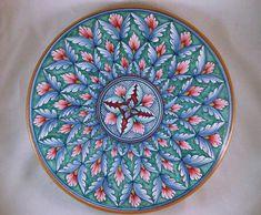 Pintado a mano de cerámica italiana Deruta por WrappedRoundMyFinger