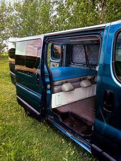 Custom Van Interior, Bus Interior, Campervan Interior, Opel Vivaro Camper, Car Camper, Camper Van, Van Conversion Bathroom, Camper Conversion, Travel Camper