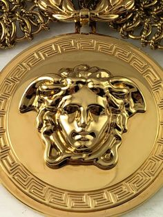 Image about fashion in Versace by The blue sailor ☯ Versace Brand, Versace Home, Versace Fashion, Versace Wallpaper, Lip Wallpaper, Medusa, Versace Tiles, Versace Furniture, Marca Versace