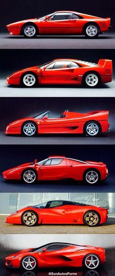 Evolución del Ferrari | La Ferrari. pic.twitter.com/n28yzFXdW8