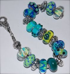 Another view of this exquisite bracelet!  #trollbeads