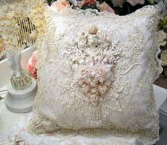 Pretty lace pillow