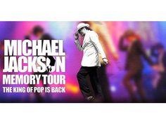 Am 30.05.2015 können noch einmal die größten Hits des King of Pop und den »Jackson 5« erlebt werden, in einer spektakulären Bühnenshow mit Showeffekten, beeindruckenden Tanzchoreographien und aufwändigen Kostümen. Um 20 Uhr beginnt die »Memory Michael Jackson«- Show im Hegel-Saal. Tickets gibt es hier:  https://www.easyticket.de/veranstaltung/michael-jackson-memory-tour-the-king-of-pop-is-back/56170/