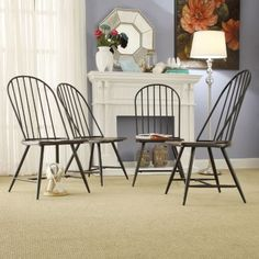 HomeVance Grayson 4-piece Dining Chair Set $239.99