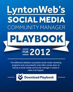 Lynton Web Social Media Community Manager - The one handbook for all you social media needs.