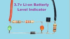 In This Project 3 7v Battery Low Full Indicator Circuit We Are Going To Make A Very Simple Battery Le Electronics Projects Circuit Diagram Electronics Circuit