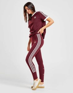 new styles 6e53b a75bc adidas Originals 3-Striped Leggings  JD Sports