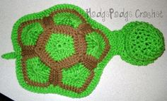 Turtle Shell Photo Prop free pattern