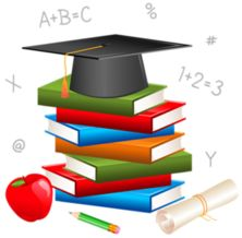 "Photo from album ""---- книги"" on Yandex. Graduation Images, Graduation Templates, Graduation Cards, Green School, 1st Day Of School, I School, C Is For Cat, Certificate Design Template, School Frame"
