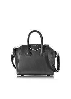 746db37321 Givenchy+Antigona+Mini+Metal+Black+Leather+Satchel+bag