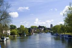 Enjoy lovely views of boats on the River Waveney