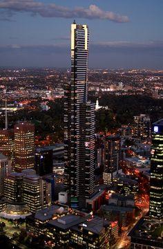 Eureka Tower Melbourne Victoria Australia Pacific Melbourne Victoria Victoria Australia