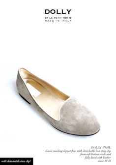 DOLLY by Le Petit Tom ® WOMEN SMOKING SLIPPER 6WSL nocciola/light brow | Le Petit Tom ®