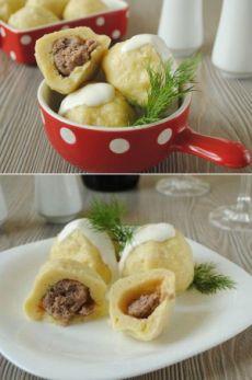 Картофельные клецки с мясом - любимое блюдо в Германии | Четыре вкуса