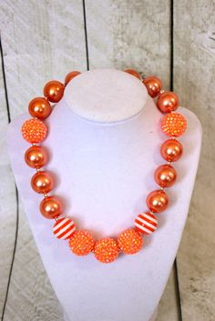 toddler chunky bead necklace
