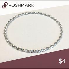 Textured silver bangle Silver bangle Jewelry Bracelets