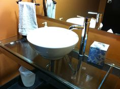 For the record, we are not fond of this type of sink.