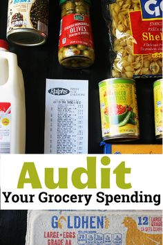 Think you should be spending less on groceries and other food costs than you are? Wondering if your food budget is a realistic one? Then it may be time for a grocery spending audit. Food Cost, Food Budget, Budget Meals, Usda Food, Save Money On Groceries, Shopping Tips, Freezer Cooking, Healthy Eating Tips, Food Allergies