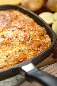 Paula-Deens-Hash-Brown-Casserole: You may make this potato dish from Paula Deen for breakfast, but you'll be eating the leftovers all afternoon and into the night.