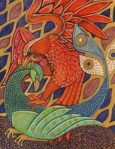 art nouveau bird images - Google Search