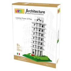 Leaning Tower of Pisa 560 PCS Diamond Micro Blocks Architecture Construction Model by LOZUSA Famous Architecture, Ancient Architecture, Lego Kits, Jigsaw Puzzles For Kids, Ancient Buildings, Historical Monuments, Tuscany Italy, Puzzle Pieces, Craft Kits