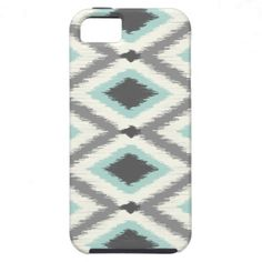 Tribal Ikat Chevron iPhone 5 Cases