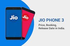 Jio Phone 3 is rumoured to be on May 2020 (Unofficial) and price in India is likely to be Rs The phone is powered by Quad core, GHz processor. It runs on the MediaTek Chipset. It has 2 GB RAM and 64 GB internal storage. Full specifications given below. Mobile Phone Logo, T Mobile Phones, Smartphone Price, Thing 1, Multi Touch, Amazon Price, Release Date, Dual Sim, Dating