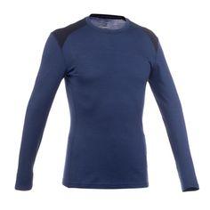 Designed for mountain trekking for multiple days. Warm, odor-free merino wool T-shirt. Cycling Tops, Premium Brands, Men's Backpack, T Shirts, Merino Wool, Hiking, High Neck Dress, Long Sleeve, Swimwear