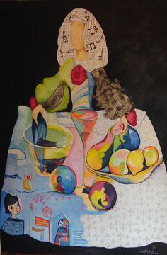 Menina Cocktail & Music Oil on Canvas / Mixed Technique 195 X 130 cm Infanta Margarita, Oil On Canvas, Canvas Art, My Muse, Shape Design, Art Boards, Sculpture Art, Painting & Drawing, Photo Art