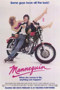 Mannequin , starring Andrew McCarthy, Kim Cattrall, Estelle Getty, James Spader. Jonathan Switcher is a young artist. He just doesn't seem to last in any job he does. But when he builds a mannequin... #Comedy #Fantasy #Romance