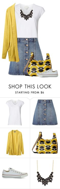 """Untitled #1436"" by tinkertot ❤ liked on Polyvore featuring Witchery, Anita & Green, Joules, Orla Kiely, Converse and Charlotte Russe"