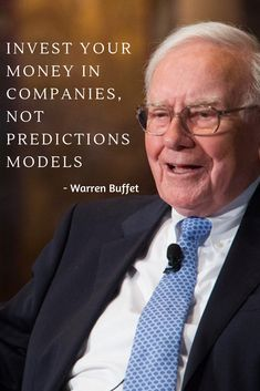 Warren Buffet - Invest in Companies, Not Prediction Models Entrepreneur, Communication, Inspirational Videos, Investing, Interview, Education, Model, Scale Model