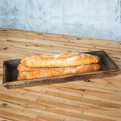 Reclaimed Wood Beveled Tray