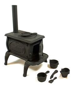 This Old Mountain Mini Box Stove Set by Old Mountain is perfect! #zulilyfinds