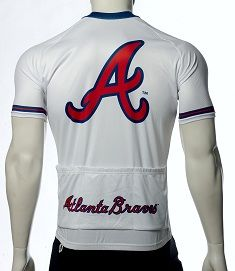 Atlanta Braves Cycling Jersey - MLB Jerseys - cycling jerseys for 39.95! - 50% off - FREE Shipping - see sizes still available at http://www.cyclegarb.com/mlb-cycling-jerseys.html