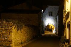 Porche - ancienne entrée de l'Abbaye Saint Sauveur